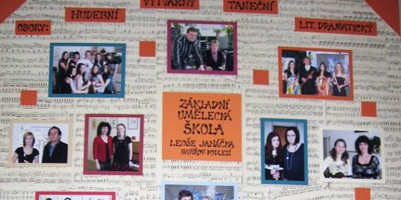 Absolventi - Školní rok 2009/2010 (tablo)