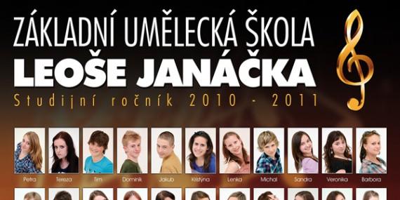 Absolventi - Školní rok 2010/2011 (tablo)