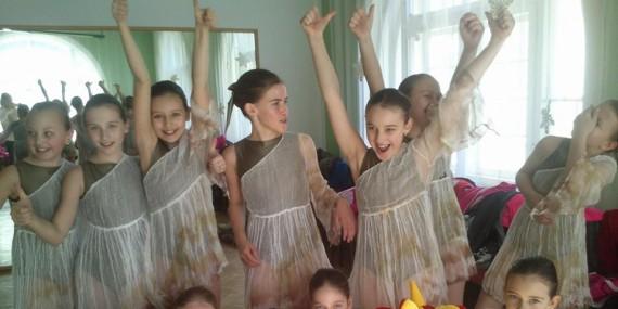 Výsledková listina okresní soutěžní přehlídky tanečního oboru