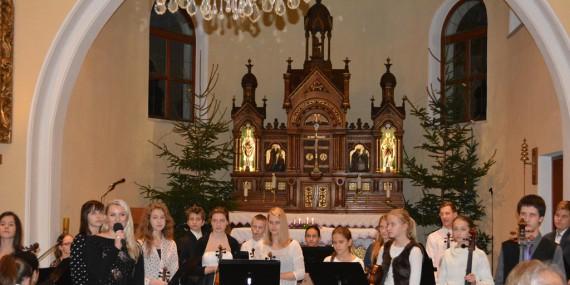 Fotogalerie vánočních koncertů