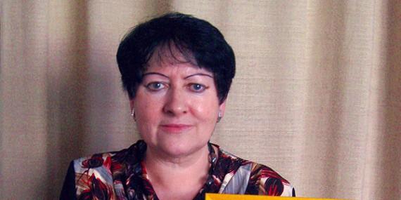 Ocenění za významný přínos pro školství a práci s mládeží, paní učitelce Jarmile Gradkové