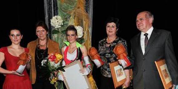 Město Havířov ocenilo paní učitelku Markétu Jankovou jako Osobnost kultury