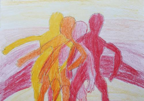 Tanečník v pohybu 4