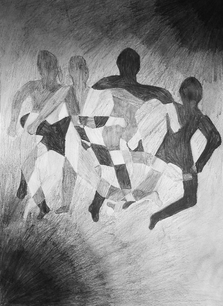 Tanečník v pohybu 1