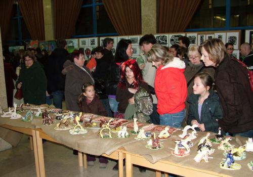 01.12.2009 - Vernisáž Výtvarného oboru