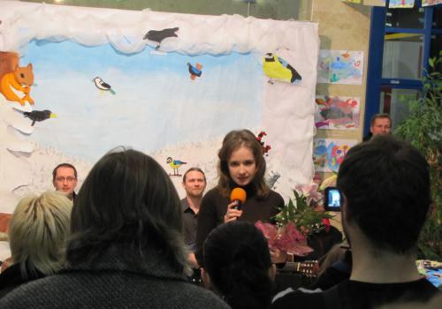 06.12.2012 - Vernisáž Výtvarného oboru